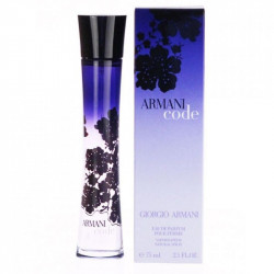 Armani Code For Her 75ML Eau De Parfum, (Parallel Import)
