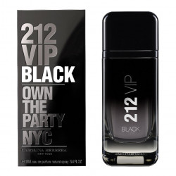 Carolina Herrera 212 VIP Black Eau de Parfum 100ML (Parallel Import), Includes Delivery