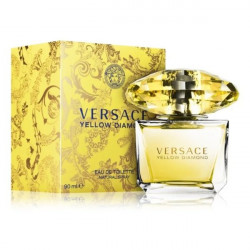 Versace Yellow Diamond Eau De Toilet 90ML (Parallel Import), Includes Delivery